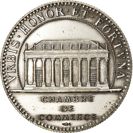 France, Token, Chamber of Commerce, Chambre de Commerce de Nantes, AU(55-58)