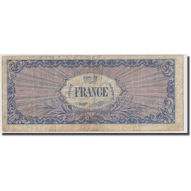 France, 50 Francs, 1945 Verso France, 1945, VF(30-35), Fayette:VF24.01, KM:122a