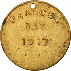United Kingdom, Token, France's Day, Bolton, Politics, Society, War, 1917