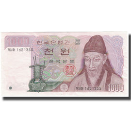 Banknote, South Korea, 1000 Won, KM:47, AU(55-58)