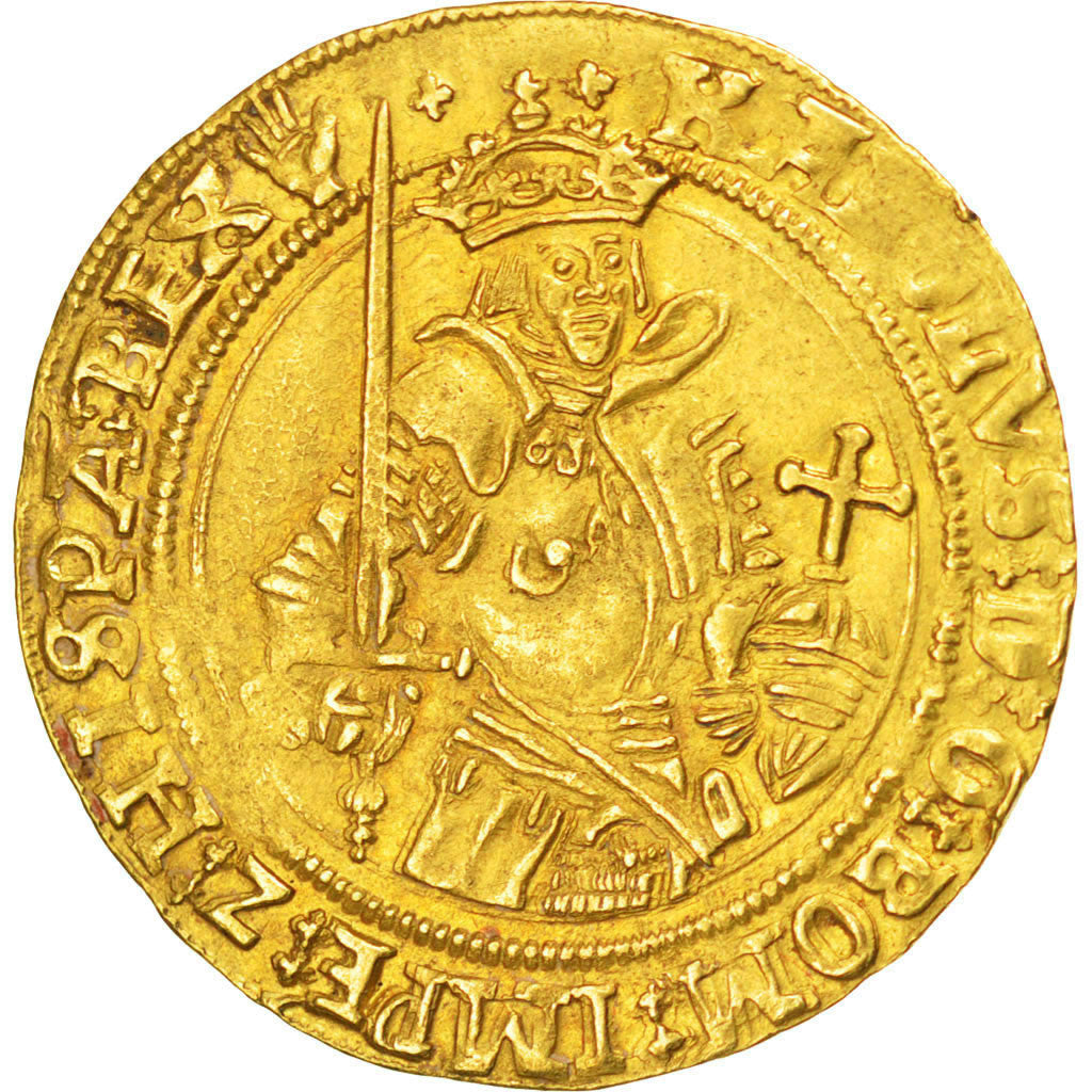 Coin, Belgium, Réal Or, Anvers, AU(55-58), Gold
