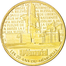 France, Tourist Token, Arts & Culture, Token, 2008, MS(63), Cupro-nickel...