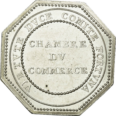 France, Token, Chamber of Commerce, EF(40-45), Silver