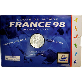 Coin, France, Franc, 1997, MS(65-70), Silver, KM:1211