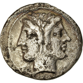Coin, Anonymous, Didrachm, Rome, VF(20-25), Silver, Crawford:28/3