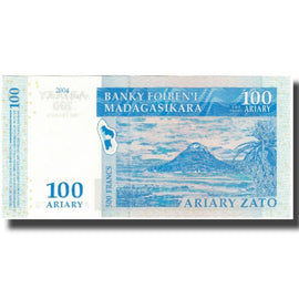 Banknote, Madagascar, 100 Ariary, KM:86a, UNC(65-70)