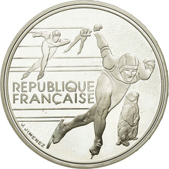 Coin, France, 100 Francs, 1990, MS(65-70), Silver, Gadoury:5
