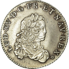 Coin, France, Louis XV, 1/3 Écu de France, 1/3 Ecu, 1721, Caen, AU(50-53)