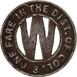 United States, Washington D.C., Capital Transit Co., Token