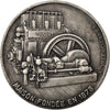 FRANCE, Business & industry, French Fifth Republic, Medal, AU(55-58), Silver,...