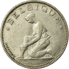 Coin, Belgium, Franc, 1934, VF(30-35), Nickel, KM:89