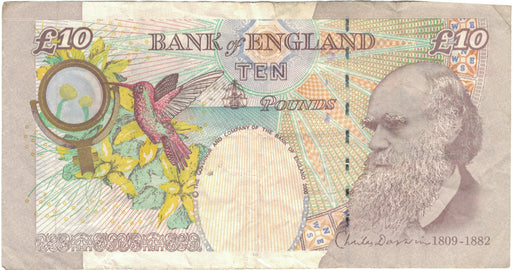 Banknote, Great Britain, 10 Pounds, 2004, 2004, KM:389c, VF(30-35)