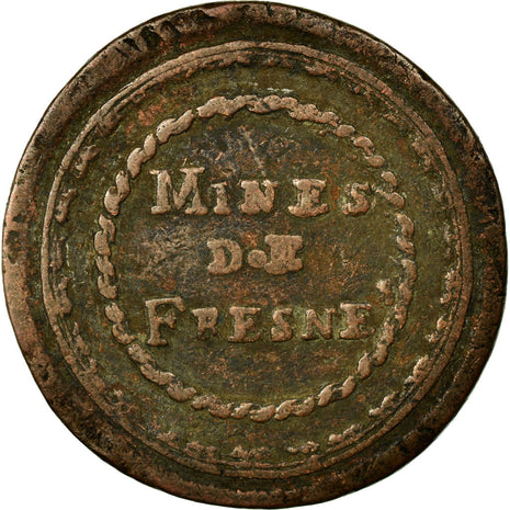 Coin, France, 10 Centimes, 1820, VF(30-35), Bronze