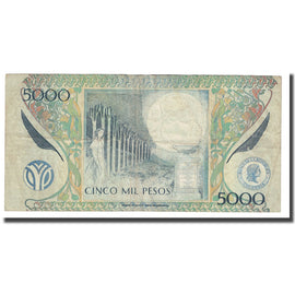 Banknote, Colombia, 5000 Pesos, 2005, 2005-11-02, KM:452f, EF(40-45)