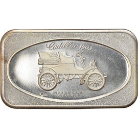 United States of America, Medal, 1 TROY OZ. .999 FINE SILVER BAR CADILLAC