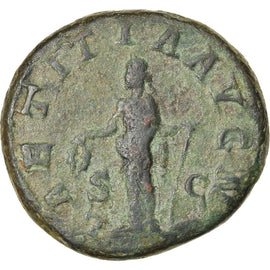 Coin, Gordian III, As, Rome, VF(30-35), Bronze, RIC:300b