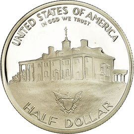 Coin, United States, Half Dollar, 1982, U.S. Mint, San Francisco, Proof