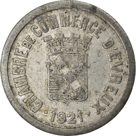 Coin, France, 25 Centimes, 1921, VF(20-25), Aluminium, Elie:10.3