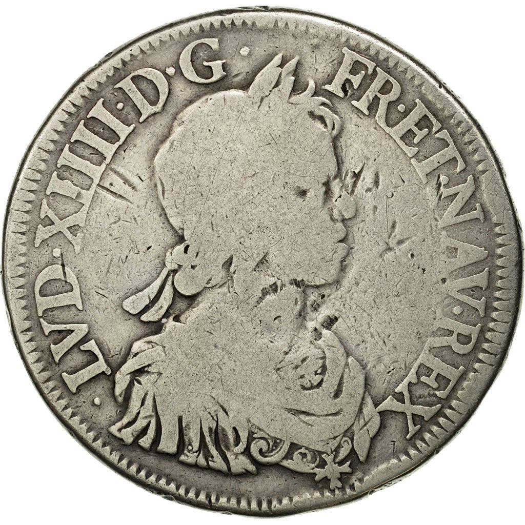 Coin, France, LOUIS XIV / LOUIS XIII, Ecu, Undated (1643)