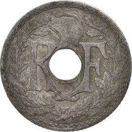 Coin, France, 10 Centimes, 1941, Paris, EF(40-45), Zinc, KM:897, Gadoury:288c