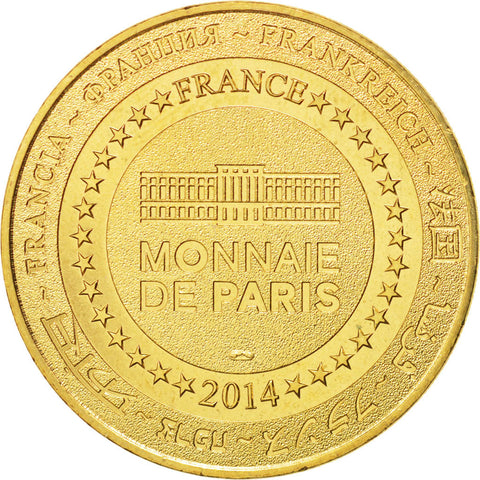 5951904242 France, Tourist Token, 13/ Zodiaque - Taureau, 2014, Monnaie de Paris
