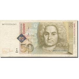 Banknote, GERMANY - FEDERAL REPUBLIC, 50 Deutsche Mark, 1996, 1996-01-02, KM:45