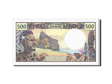 French Pacific Territories, 500 Francs, Undated (1992), KM:1a, UNC(65-70)