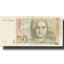 Banknote, GERMANY - FEDERAL REPUBLIC, 50 Deutsche Mark, 1991, 1991-08-01