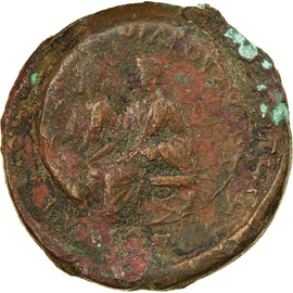 Coin, Lydia, Sardes, Germanicus with Drusus, Ae, 15 BC-19 AD, VF(30-35), Bronze