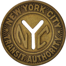 United States, New-York City Transit Authority, Token