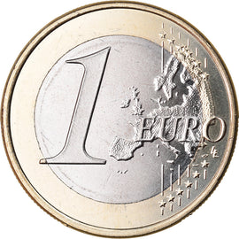 Spain, Euro, 2017, MS(63), Bi-Metallic