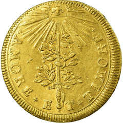 Hungary, Token, Coronation of Joseph I of Habsburg, 1687, AU(55-58), Gold