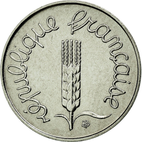 Coin, France, Épi, Centime, 1982, MS(65-70), Stainless Steel, Gadoury:91