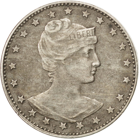 BRAZIL, 100 Reis, 1901, KM #503, EF(40-45), Copper-Nickel, 20.96, 5.00