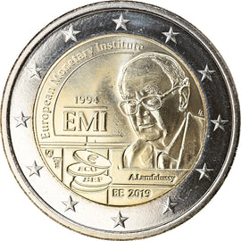 Belgium, 2 Euro, European Monetary Institute, 2019, MS(65-70), Bi-Metallic