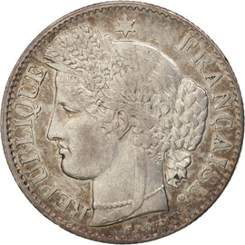Coin, France, 50 Centimes, 1850, Paris, AU(50-53), Silver, KM:769.1, Gadoury:411