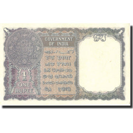 Banknote, India, 1 Rupee, 1940, 1940, KM:25d, UNC(65-70)