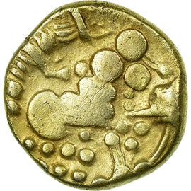 Coin, Durocassi, 1/4 Stater, Very rare, EF(40-45), Gold, Delestrée:S2563A