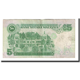 Banknote, Malaysia, 5 Ringgit, Undated (1986-89), KM:35a, EF(40-45)