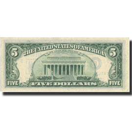 Banknote, United States, Five Dollars, 1985, 1985, KM:3716, UNC(63)