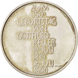 150th anniversary of Gottfrie Keller birth, Token
