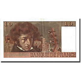 Banknote, France, 10 Francs, 10 F 1972-1978 ''Berlioz'', 1976, 1976-01-05