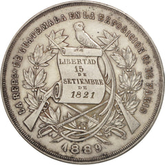France, Medal, 1889 Paris World Fair, Arts & Culture, 1889, AU(55-58), Silver