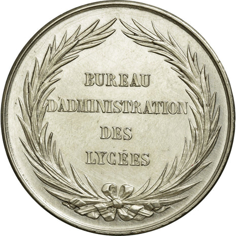 France, Token, Instruction and Education, AU(55-58), Silver