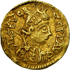 Coin, France, Visigoths, Triens à la Victoire, 461-465, Uncertain Mint, Gold