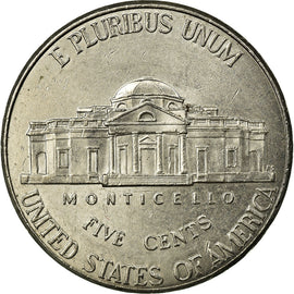 Coin, United States, 5 Cents, 2014, Philadelphia, EF(40-45), Copper-nickel