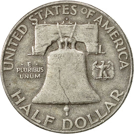 United States, Franklin Half Dollar, Half Dollar, 1960, U.S. Mint, Denver