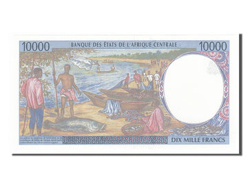 Banknote, Central African States, 10,000 Francs, 2000, UNC(65-70)