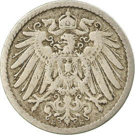 Coin, GERMANY - EMPIRE, Wilhelm II, 5 Pfennig, 1894, Muldenhütten, VF(30-35)