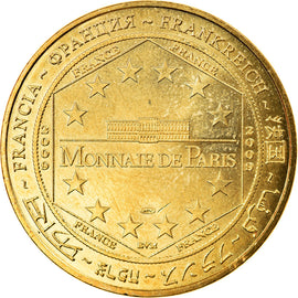 France, Token, Touristic token, Arts & Culture, 2009, MDP, Lons-le-Saunier - La